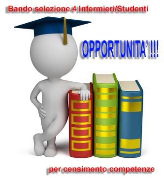 Bando per la selezione di n. 4 Infermieri/Studenti in Infermieristica per progetto censimento competenze iscritti al Collegio IPASVI di Prato