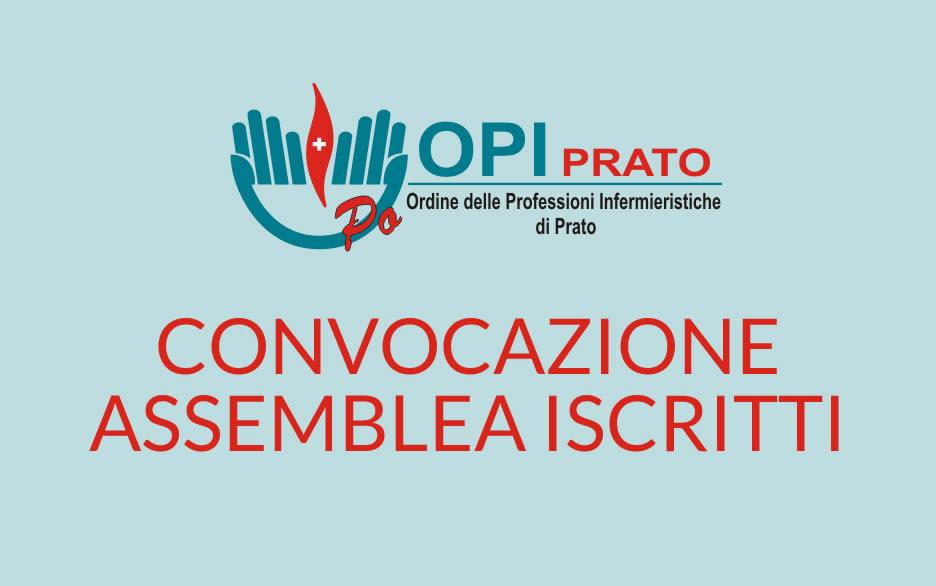Convocazione assemblea iscritti