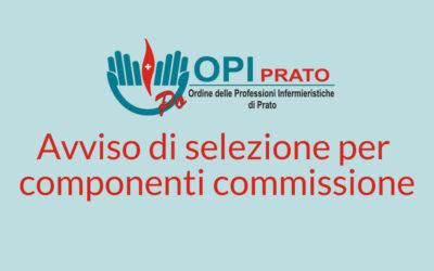 Avviso selezione per componenti Commissioni di Esame abilitante e Esame finale OSS